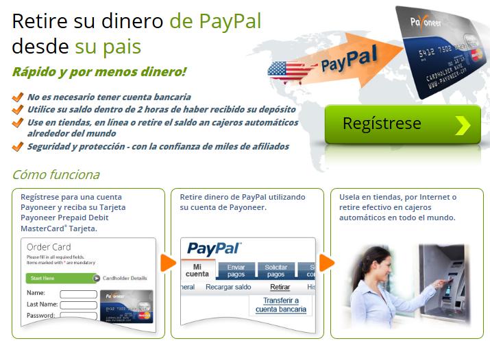 Cuenta Bancaria en USA para retirar saldo de paypal